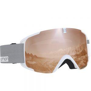 Smučarska-očala-Salomon-Xview-Access-Bela