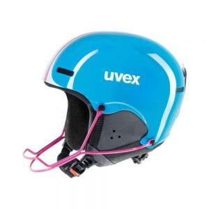 Smucarska-celada-Uvex-HMLT-5-Modra