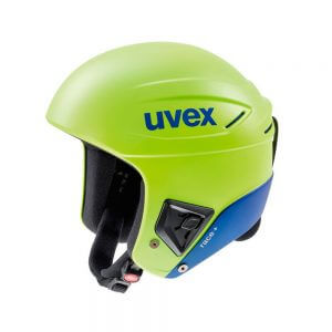 Smucarska-celada-Uvex-Race+-Lime