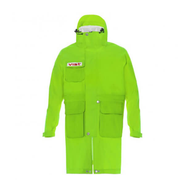 Dezni-plasc-Vist-Rain-Coat-Adjustable-Jacket-Jr-zelen