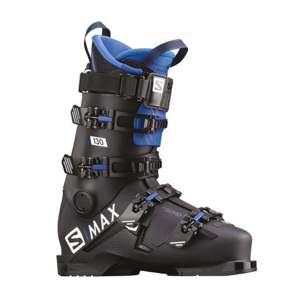 Smucarski-cevlji-Salomon-SMAX-130-crni