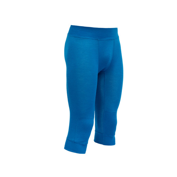 Hlace-Devold-Wool-Mesh-Man-34-Long-Johns-Modre