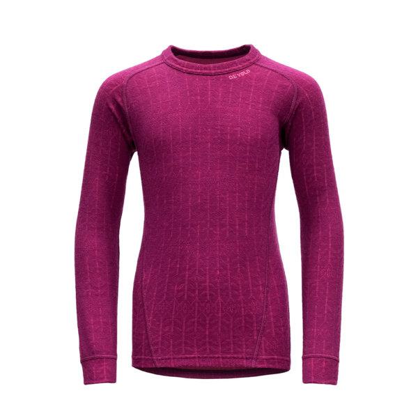 Majica-Devold-Duo-Active-Junior-Shirt-Pink