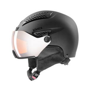 Smucarska-celada-Uvex-Hlmt-600-Visor-crna-Mat