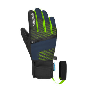 Smucarske-rokavice-Reusch-Theo-R-Tex-XT-Jr-Modro-Zelene