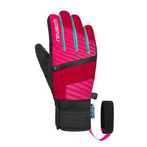 Smucarske-rokavice-Reusch-Theo-R-Tex-XT-Jr-rdece-pink