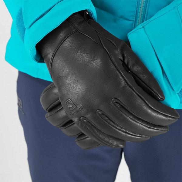 Smucarske-rokavice-Salomon-Native-W-crne1