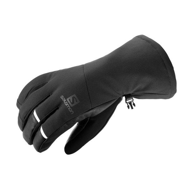 Smucarske-rokavice-Salomon-Propeller-Long-M-crne