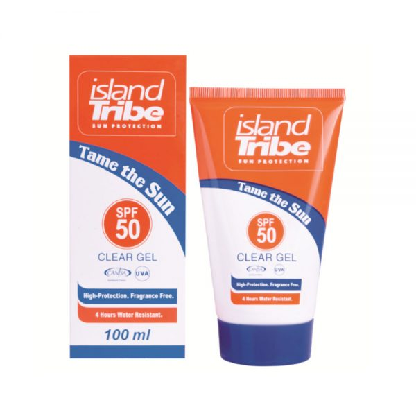 Krema-Island-Tribe-SPF-50-Clear-Gel-100-ML