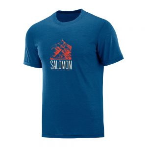 Majica-Salomon-Explore-Graphic-Ss-Tee-M-Poseidon