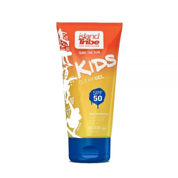 Soncna-krema-Island-Tribe-Kids-SPF-50-Clear-Gel-50ML