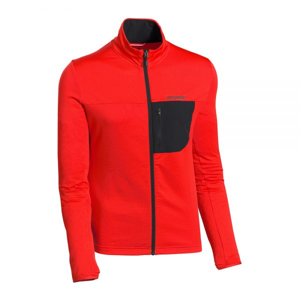 Jakna-Atomic-Savor-Fleece-Jacket-Red-Black