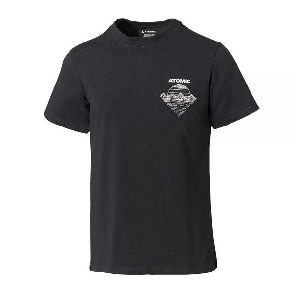Majica-Atomic-Alps-Bent-Chetler-T-Shirt-Black