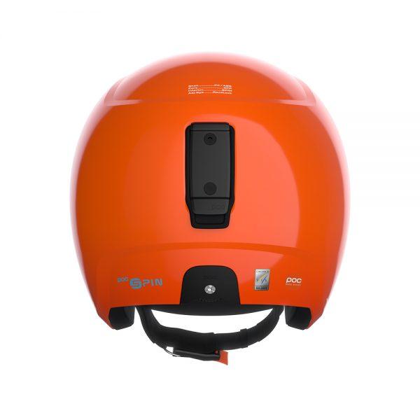 Smucarska-celada-Poc-Skull-Dura-X-SPIN-oranzna2