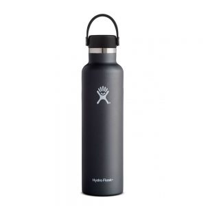 Hydro-Flask-24-Oz-Standard-Mouth-Flex-Cap-black