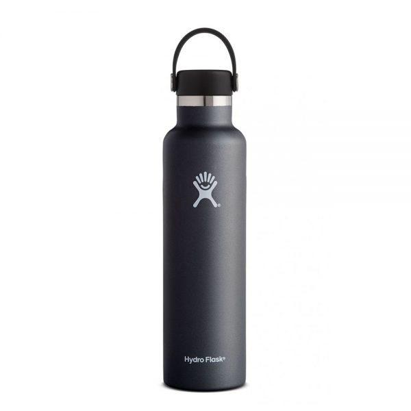 Hydro-Flask-24-Oz-Standard-Mouth-Flex-Cap-black