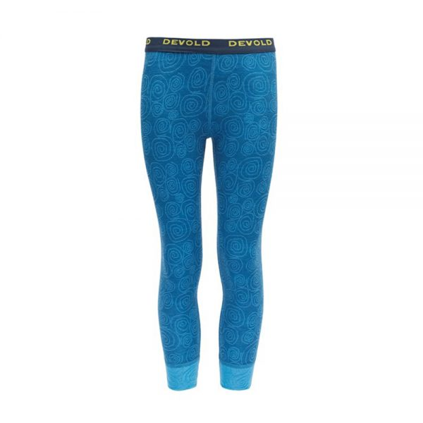 Hlace-Devold-Duo-Active-Kid-Long-Johns-Blue