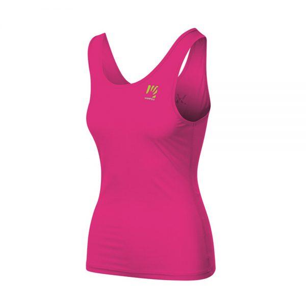 Majica-brez-rokavov-Karpos-Loma-W-Pink